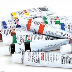 Темперные краски – история и особенности применения